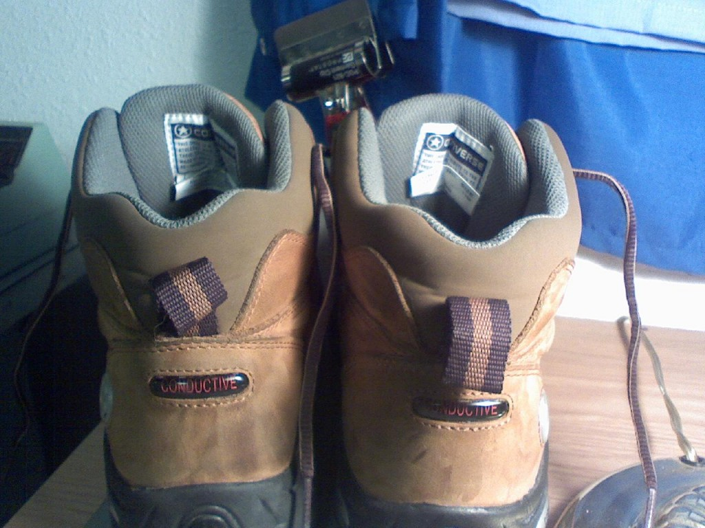 Are ESD shoes and Conductive shoes the same thing? - Ground
