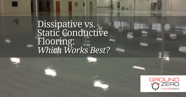 Dissipative vs. Static Conductive Flooring: Which Works Best?