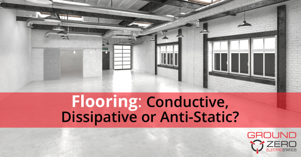 Conductive, Dissipative, or Anti-Static Flooring