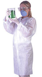 Disposable Three Layer Lab Coat