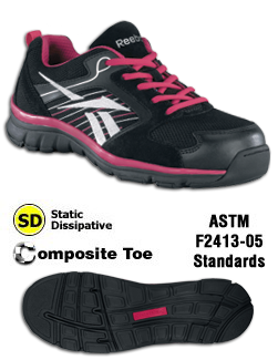 Sporty ESD Shoes, Men's and Women's