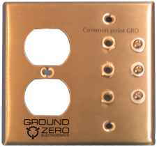 Stainless Grounding Plate