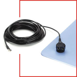 ESD and Static Control Ground Cords- Common Point Cord
