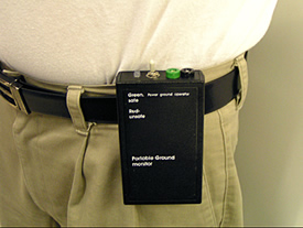 Continuous Wrist Strap Monitor Battery Operated Esd