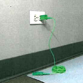 Esd Meter Accessories Gap 005 Ground Adapter Plug Prf