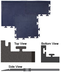 UltraTough Modular Conductive Safety Tile Specifications Ground - Conductive flooring specifications