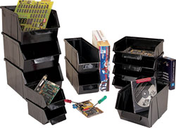 conductive Stack bins